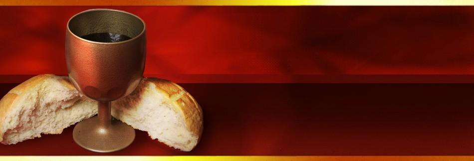 communion wine and bread st paul s